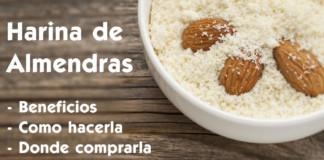 Harina de Almendras