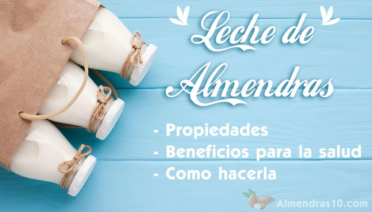 Leche de Almendras